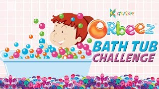 Orbeez Bath Challenge in Pool : Kyrascope  kids toys reviews Indian Youtuber