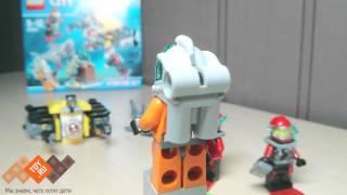 Обзор LEGO City - 60091 - Лего Сити Исследование морских глубин Deep Sea Starter Set