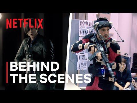 Resident Evil: Infinite Darkness | Behind the Scenes | Netflix