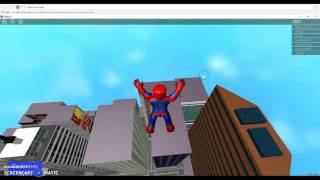 ive become spider man in roblox