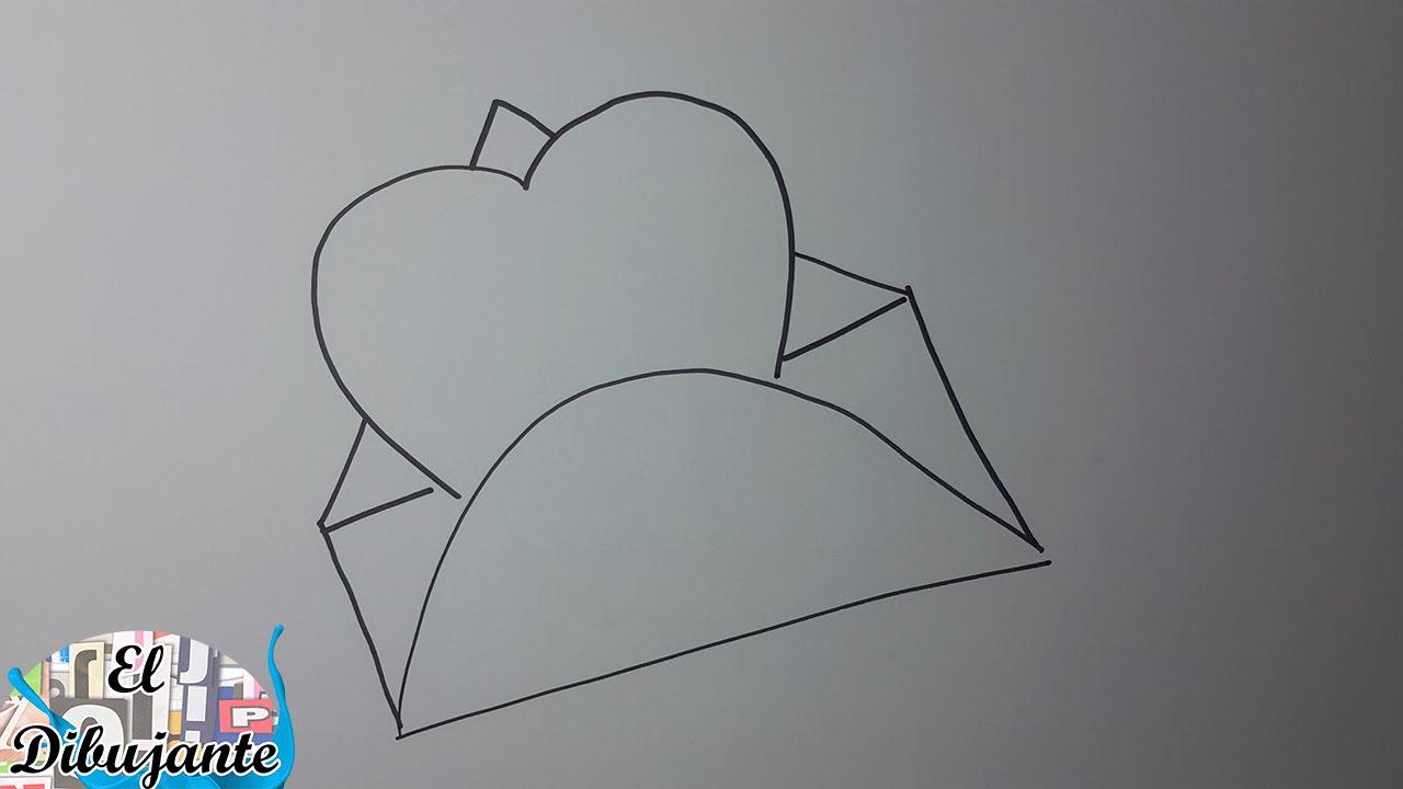 Como Dibujar Un Corazón En Un Sobre Paso A Paso [El