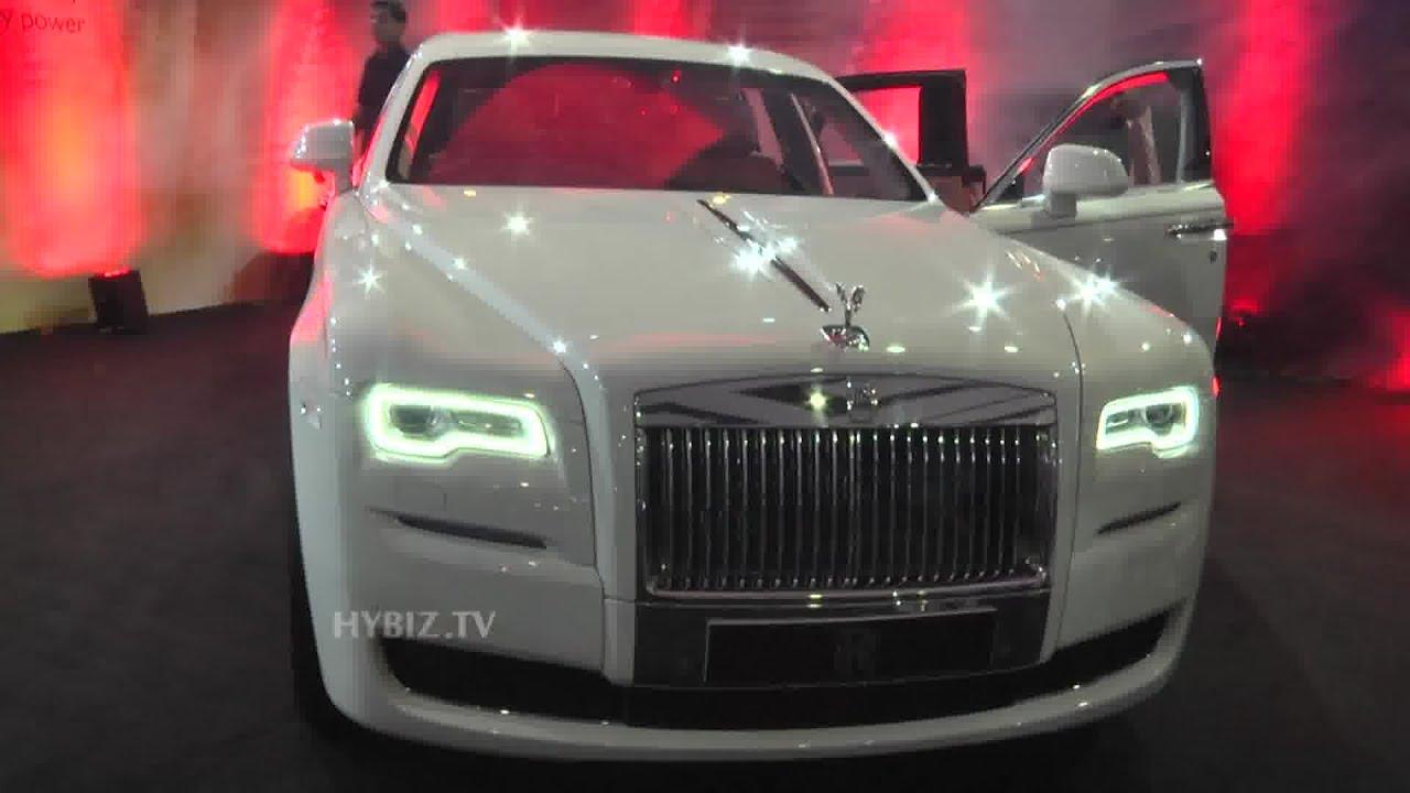 Rollsroyce Ghost Series Ii Interior Review At International Auto