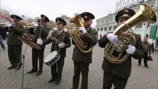 Военный оркестр 9 мая в фильме для Первого канала. День победы.