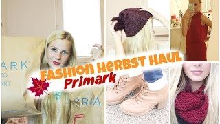 Fashion Haul Herbst I Primark Thumbnail