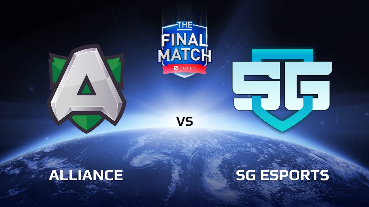 Alliance vs SG eSports, Game 1, The Final Match LAN-Final, Grand Final