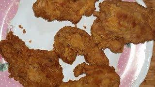Baharatlı ve Sade POPAYES Tavuk nasıl yapılır - Popayes tavuk Tarifi - POPEYE'S FRIED CHICKEN RECIPE