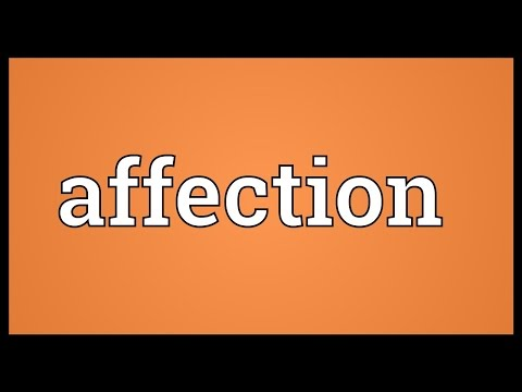Affection Meaning