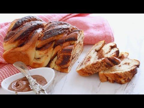 Crazy Dough Braided Nutella Bread - Gemma's Crazy Dough Bread Series Ep 4