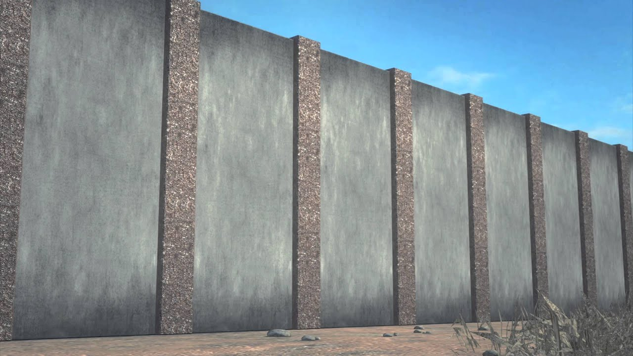 ante trumps border wall free video