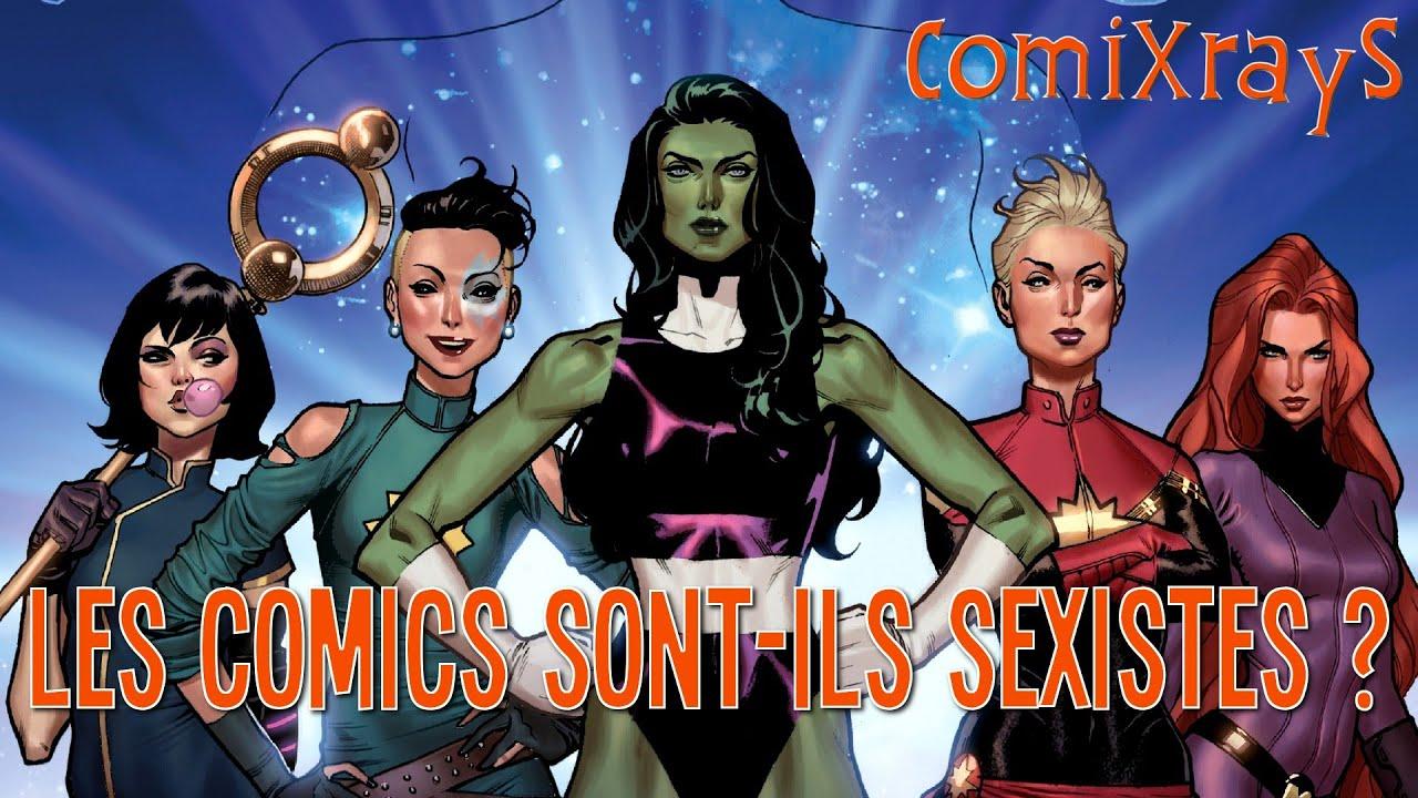 Les Comics sont-ils Sexistes ? - ComiXrayS