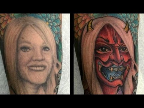 Woman: My Ex-Husband Turned Tattoo Of Me Into A Horned Demon