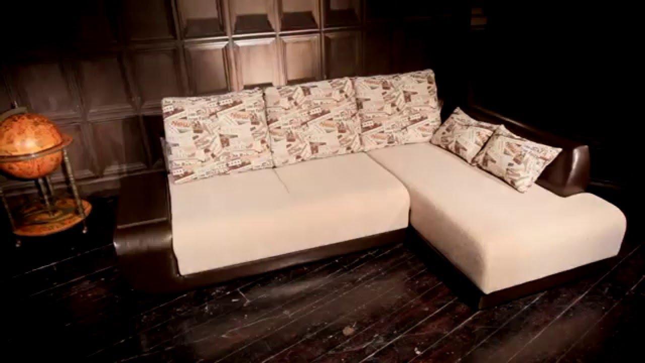 Видеообзор углового дивана