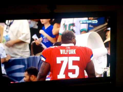 Man Storms NFL Pro Bowl 2011