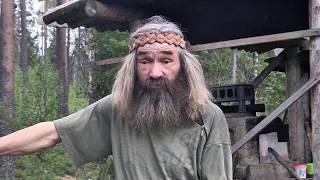 Отшельник на реке Мезенская Пижма.