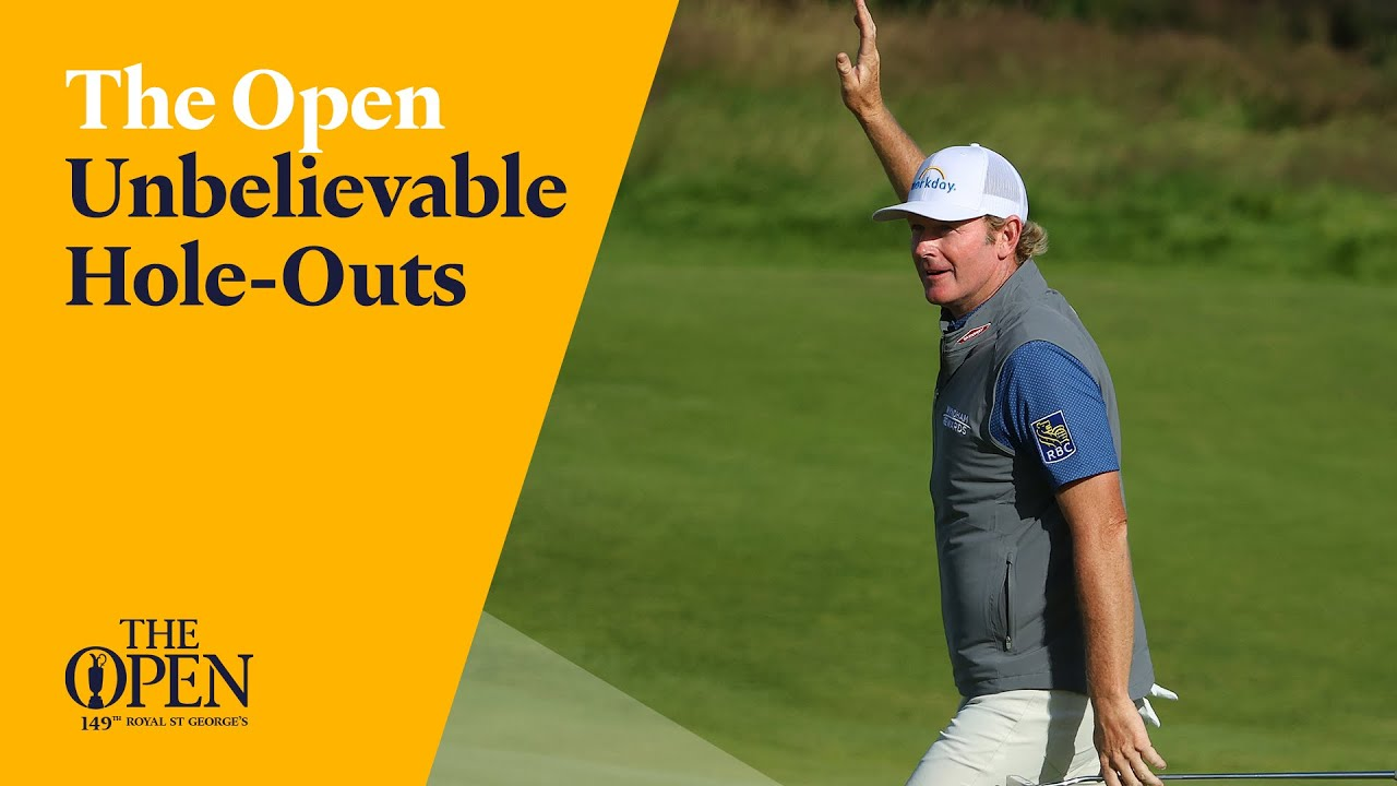 UNBELIEVABLE Hole Outs   The 149th Open