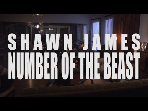 """Shawn James """"Number of the Beast"""" cover Live at the Heartbreak House"""