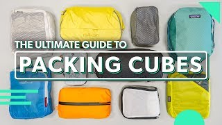 The Ultimate Packing Cubes Guide | How To Use & Choose The B...