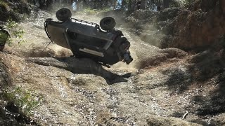 Serious 4x4 Roll Over & Recovery (Inc Slow Mo Replay) @ Widow Maker Coffs Harbour