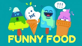 Fun animation | Funny food | Learn vegetables & sweets | Learning videos for kids | Видео для детей
