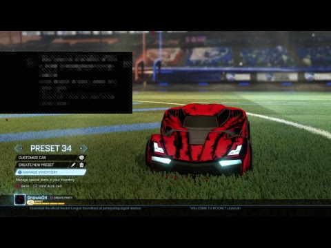 Rocket league giveaway and Trades!! Road to 300 subs!!!