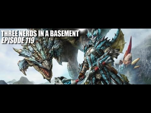 TNIAB Podcast 119 | Monster Hunter 3 Ultimate, Metal Gear Solid 5, Gundam Wing