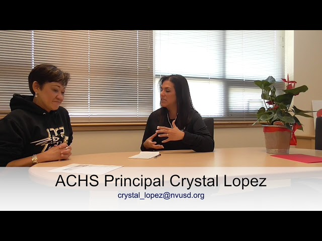 Interview with ACHS Principal, Ms. Crystal Lopez | Brought to you by Kasama Lee Community Realtor