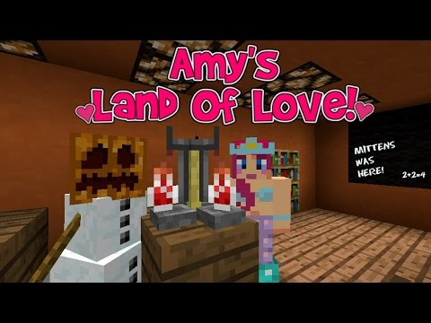 Amy's Land Of Love! Ep.136 Mittens Gets DETENTION! | Minecraft | Amy Lee33
