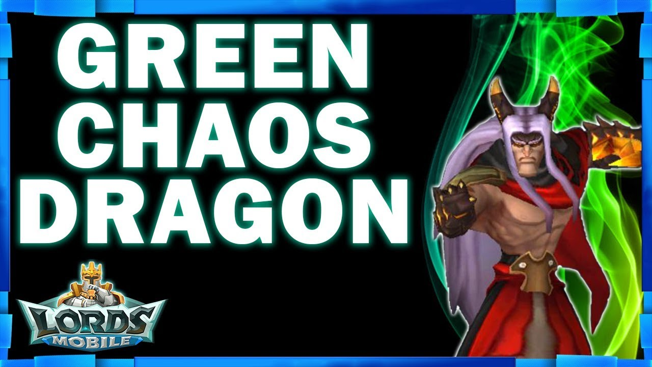 LORDS MOBILE - CHAOS DRAGON TO GREEN - MONSTER HUNT HELL EVENT - MISTER BP  GAMING