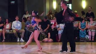 Nadia Kastenmeier Donald Johnson crystal ballroom dance competition 2018 jive