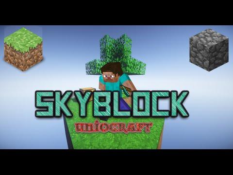 uniocraft skyblock nasıl para kazanılır skyblock bölüm 14