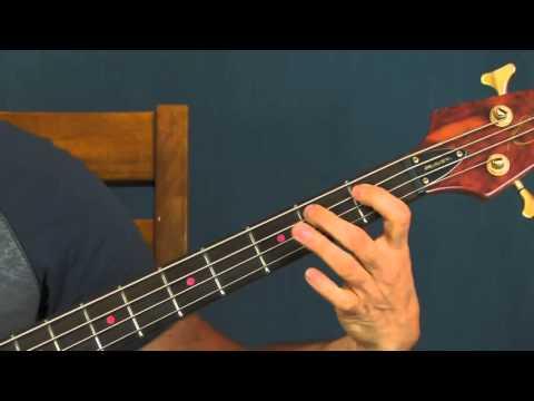 beginner bass guitar lesson barney miller theme jack elliott allyn ferguson