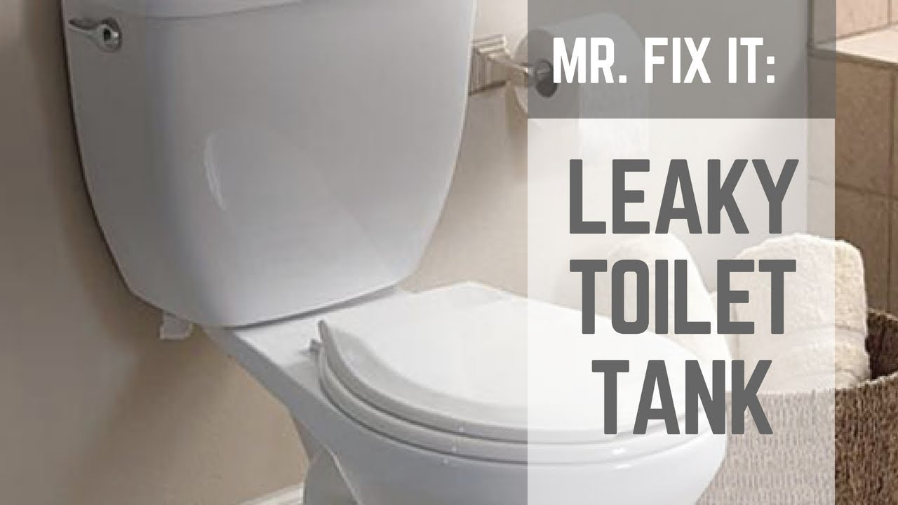 How To Fix A Leaky Toilet Tank Nuts