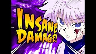 Killua INSANE 102 HIT Super Combo! Jump Force Online Battles