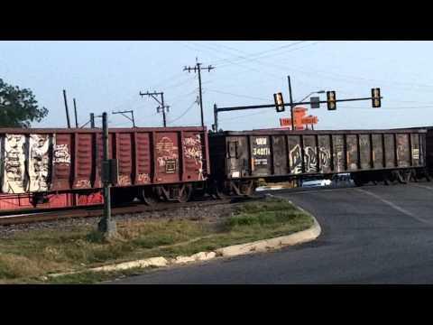 Train Travel at Zarzamora & Frio City Rd. San Antonio, TX  Port SA TDI James Rodarte