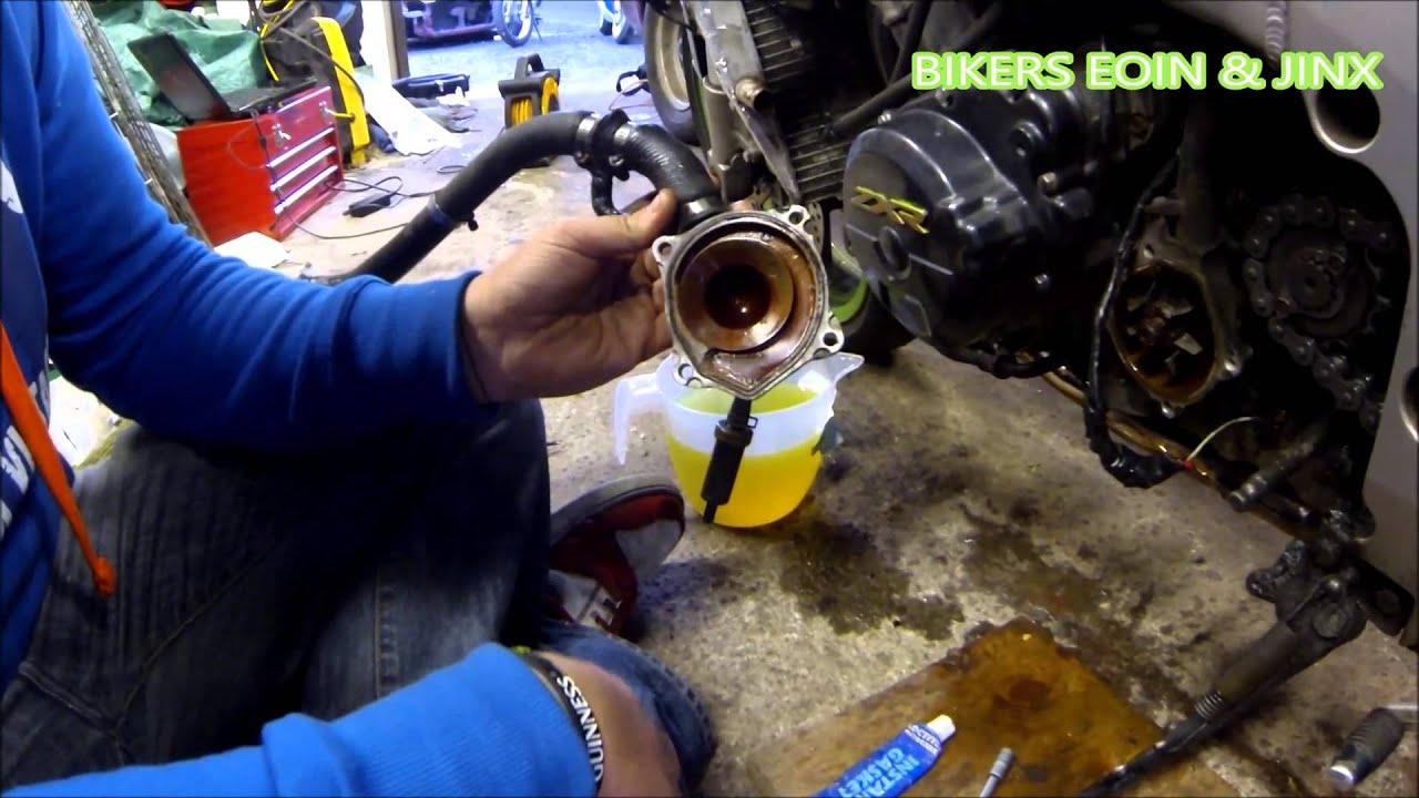 Diagram Of Honda Motorcycle Parts 2003 Cbr600rr A Water Pump Diagram