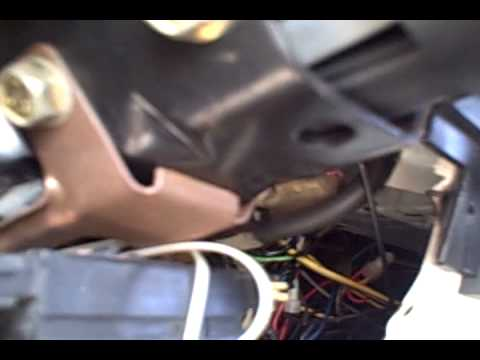 Changing turn signal lever in 87 GMC Jimmy - YouTube