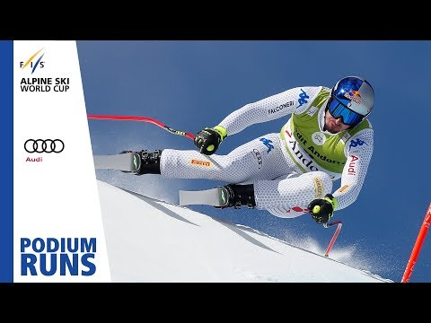 Dominik Paris | Men's Downhill | Soldeu | Finals | 1st place | FIS Alpine