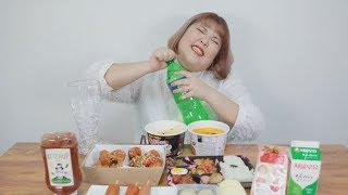 Yang soo bin)편의점 음식 뿌셔뿌셔~ korea Convenience store food !!