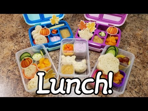 Eleventh week of school lunches... First Grade Lunches - what she ate