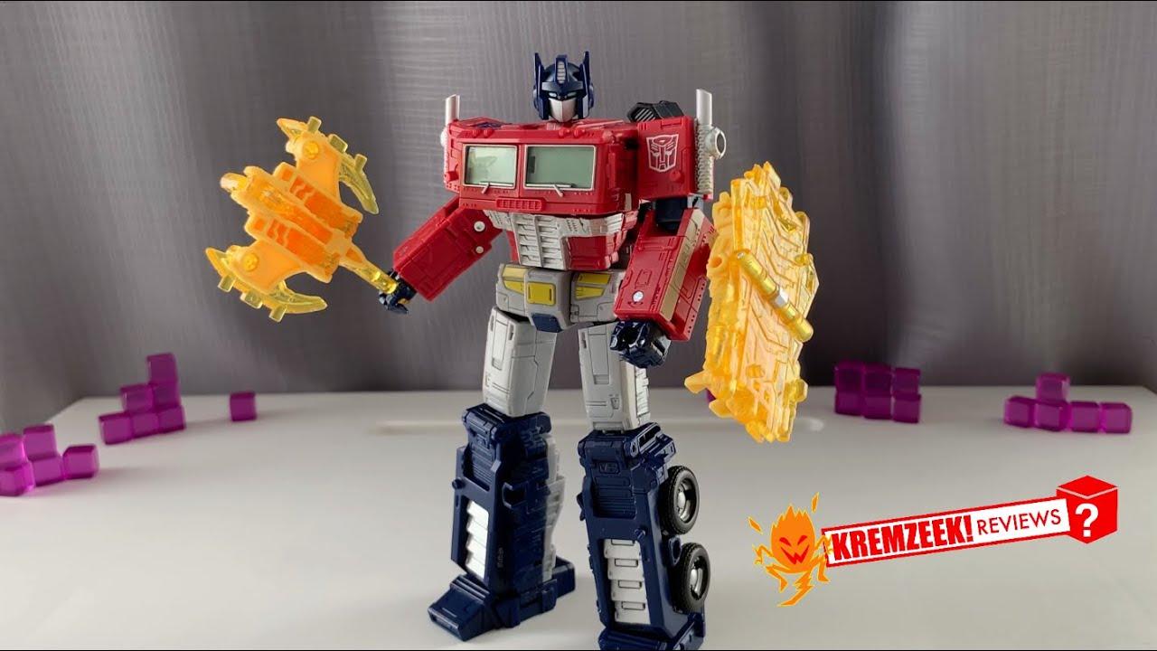 Download Transformers Netflix WFC Earthrise Optimus Prime