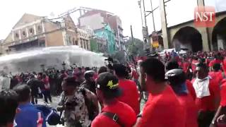 Red Shirt rally: Water cannon deployed against protesters