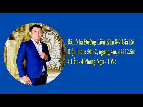 Bán Nhà Hẻm Xe Hơi Đường Liên Khu 8-9, Bình Tân, Giá Rẻ, 50m2, 4 Lầu |  Nguyễn Út Nhà Phố