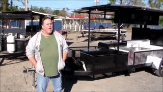 new south smokers competition bbq smoker with sink 1