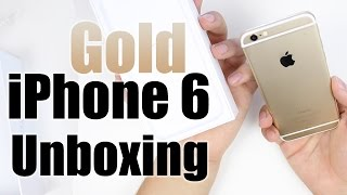 iPhone 6 Unboxing (Gold)