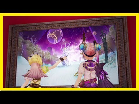 Breaking News | Atelier lydie & suelle gameplay video takes us through fields of mysterious paintin