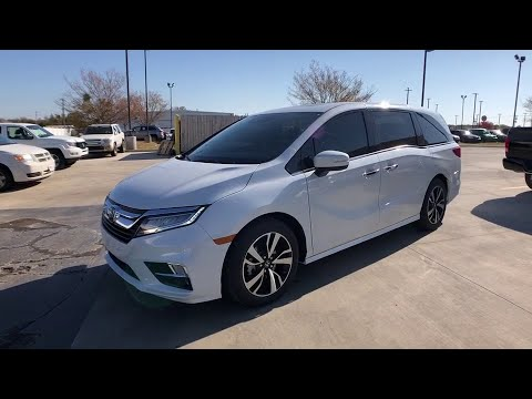 2020 Honda Odyssey Muskogee, Pryor, Broken Arrow, Tulsa, Fort Gibson, OK H1562