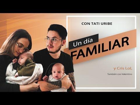 UN DÍA NORMAL EN FAMILIA / VAMOS AL SUPERMERCADO / Tati Uribe & Cristian Vlogs thumbnail