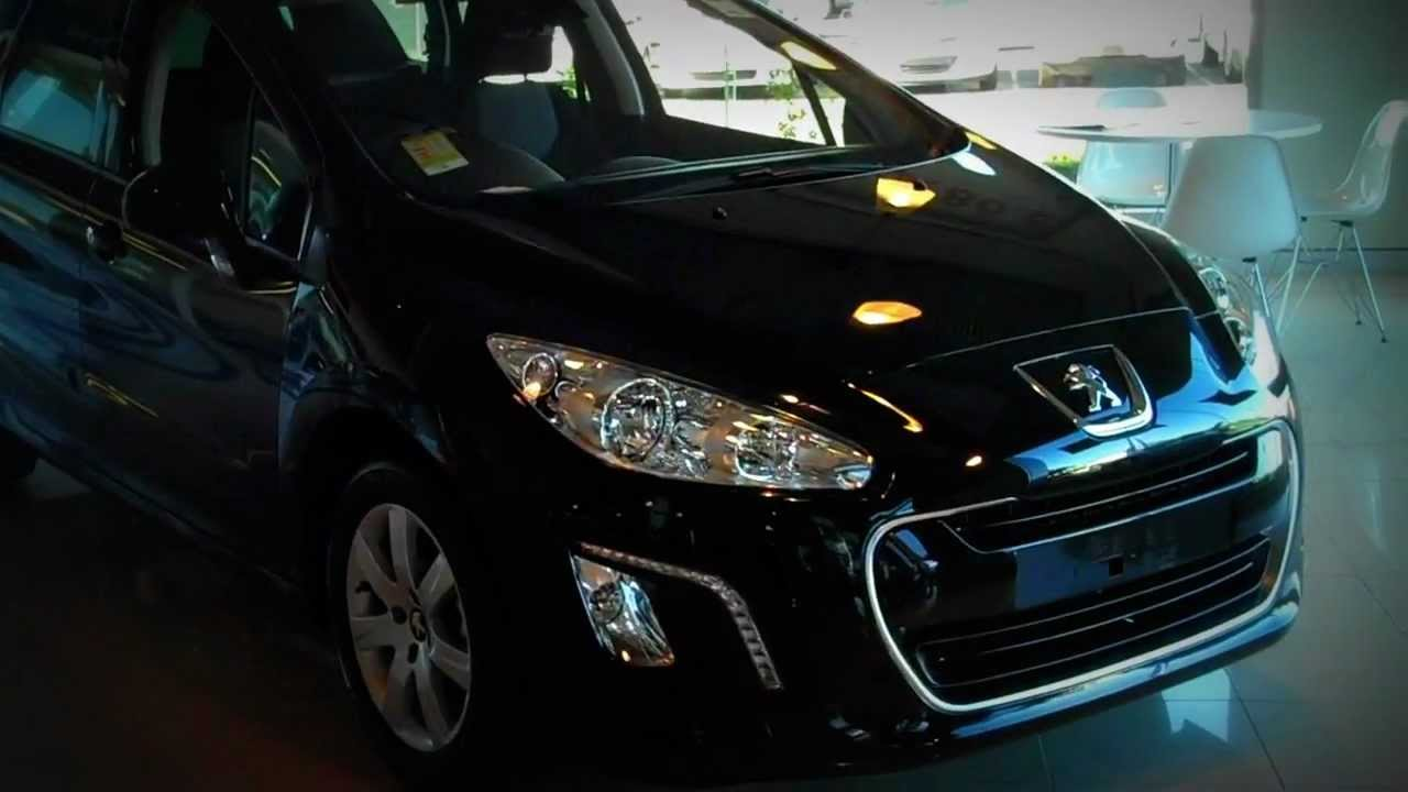 2011 Peugeot 308 Active Touring Review - YouTube