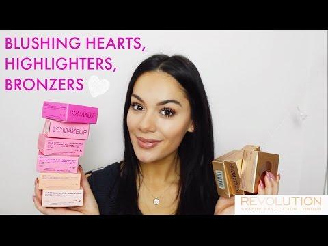 VALENTINES MAKEUP FAVOURITES | Makeup Revolution