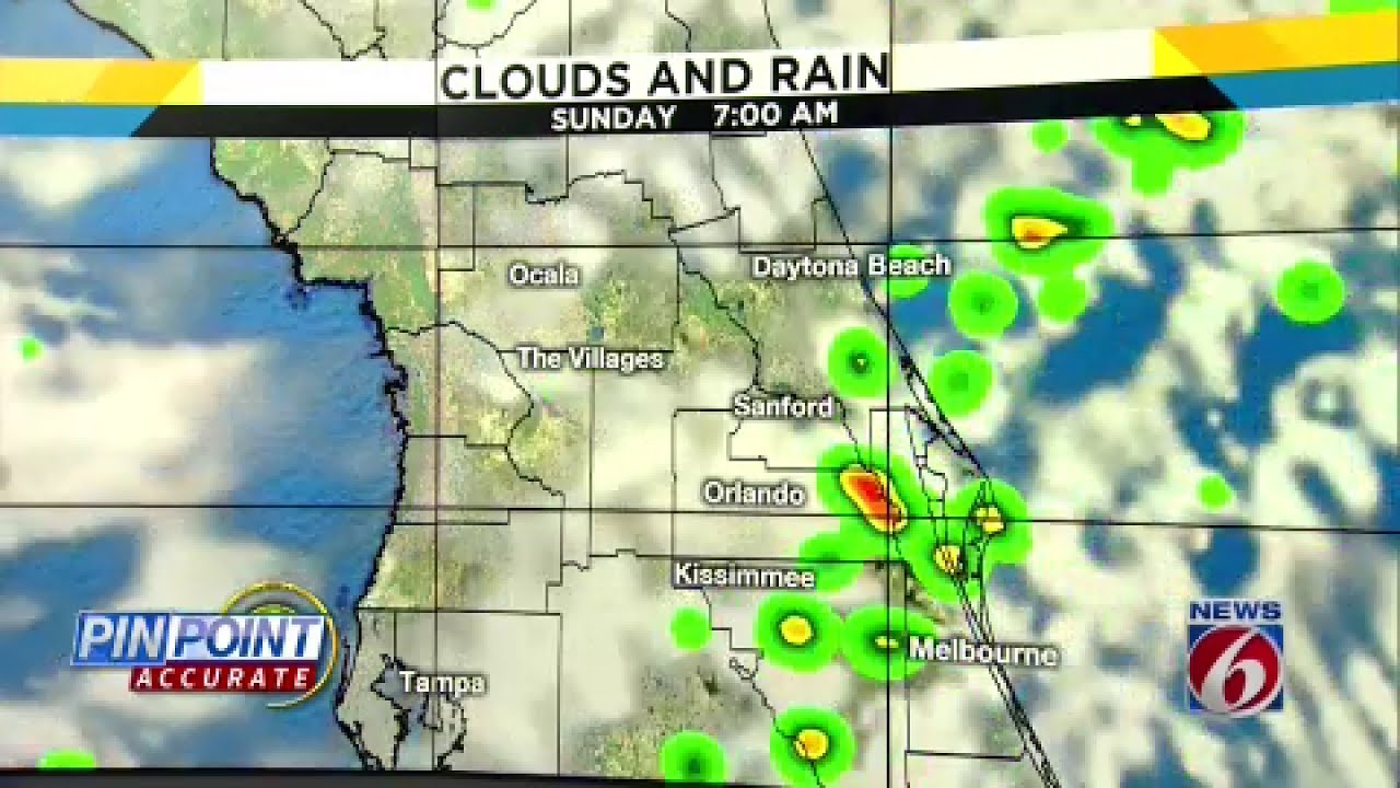 News 6 Pinpoint Weather forecast